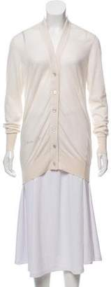 Chanel CC Cashmere Button-Up Cardigan