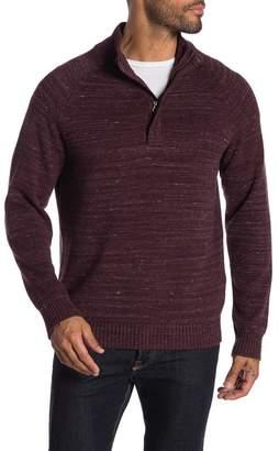 Weatherproof Hidden Half Zip Front Sweater