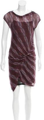 See by Chloe Knot-Accented Knee-Length Dress
