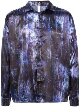 Cottweiler snakeskin print shirt
