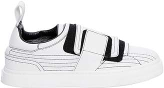 Paco Rabanne Leather Sneakers