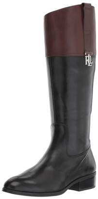 Lauren Ralph Lauren Lauren by Ralph Lauren Women's Merrie Fashion Boot 8 B US
