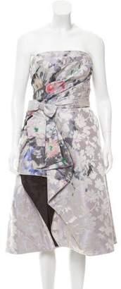 Oscar de la Renta 2016 Floral Dress w/ Tags