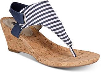 White Mountain AllGood Wedge Sandals Women Shoes