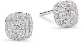 KC Designs Women's Diamond & 14K White Gold Stud Earrings