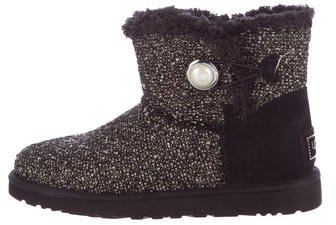 UGG UGG Australia Mini Bailey Button Ankle Boots