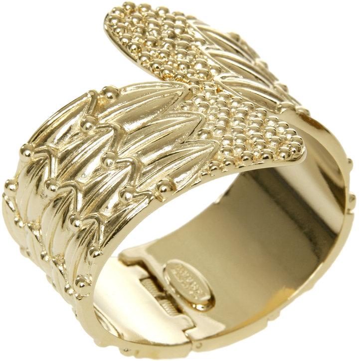 Roberto Cavalli Gold Toned Cuff