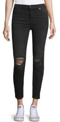 7 For All Mankind Gwenevere High-Rise Ankle Jeans