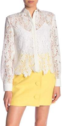 Paul & Joe Sister Automne Crochet Lace Blouse