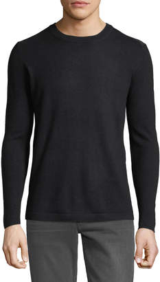Slate & Stone Colorblock Wool Crewneck Sweater