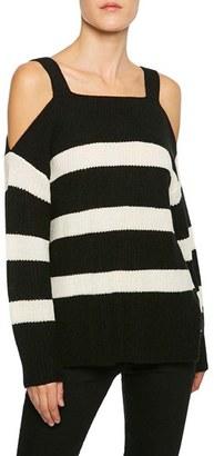 Women's Sanctuary Amelie Cold Shoulder Sweater $79 thestylecure.com