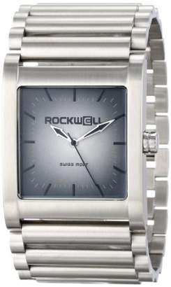 Rockwell Time Unisex RK104 Rook Stainless Steel Silver and Fade Watch