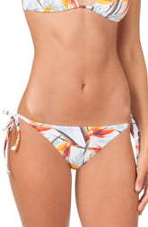 LIVELY The String Bikini Print Swim Bottoms