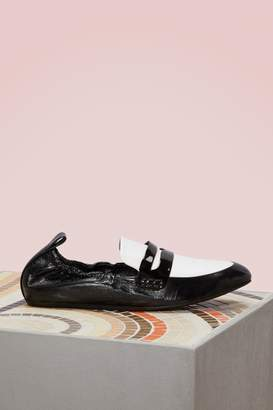 Lanvin Two-Toned Loafers
