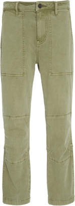 Current/Elliott Weslan Cotton-Blend Twill Skinny Pants