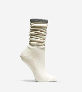 Cole Haan Popcorn Stitch Slouch Socks