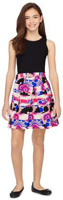 Milly Minis MillyMilly Modern Print Pleated Skirt