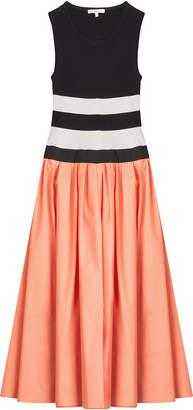 Paule Ka Mixed-Media Dress