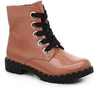 Qupid Valora-01 Combat Boot - Women's