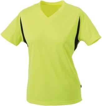 James & Nicholson Women's Maternity T-Shirt - Orange