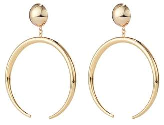 Jenny Bird The Factory Open Hoop Drop Earrings
