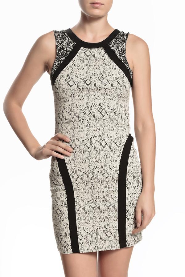 PARKER Jagger Printed Dress