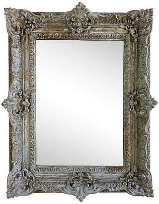 One Kings Lane Vintage French Painted Antique MIrror