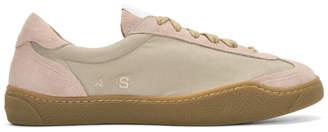 Acne Studios Beige Lars Sneakers