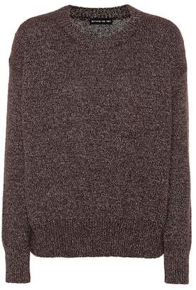 Etro Metallic thread wool-blend sweater