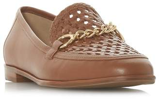 Dune Tan Leather 'Galowe' Loafers