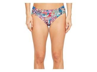 Kenneth Cole Tropical Tendencies Tab Side Hipster Bottom Women's Swimwear