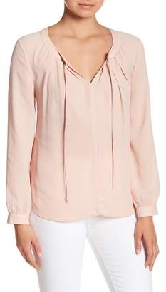 Daniel Rainn DR2 by Solid Pleated Blouse