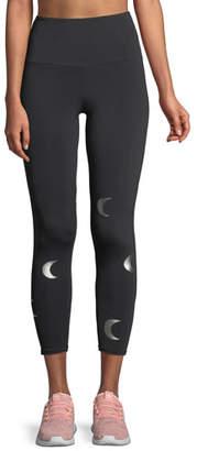Onzie High-Rise Foil Graphic Midi Yoga Leggings