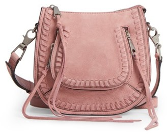 Rebecca Minkoff Mini Vanity Leather Saddle Bag - Pink $245 thestylecure.com