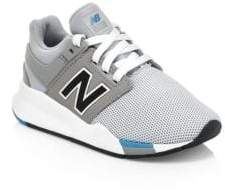 New Balance Kid's 247v2 Suede& Mesh Sneakers