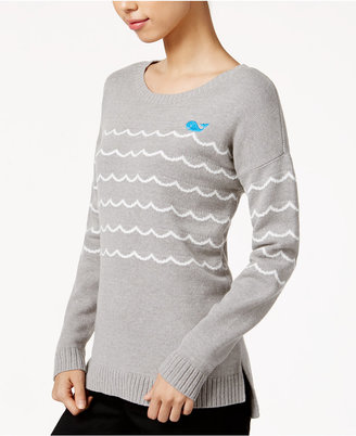 Maison Jules Whale In Waves Graphic Sweater, Only at Macy's $69.50 thestylecure.com