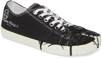 Maison Margiela Tabi Paint Splatter Low Sneaker