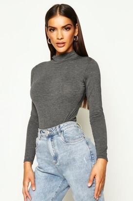 boohoo Turtle Neck Long Sleeve Basic Body