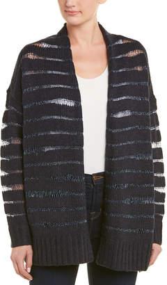 NYDJ Metallic Stripe Cardigan