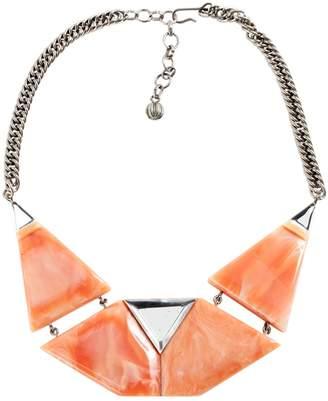 Pierre Cardin Vintage Pink Metal Necklace