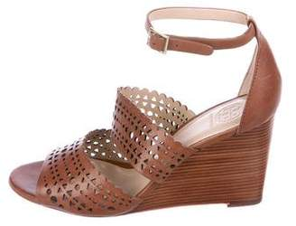 Tory Burch Leather Laser Cut Sandals