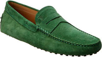 Tod's Suede Moccasin