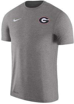 Nike Men's Georgia Bulldogs Dri-Fit Touch T-Shirt