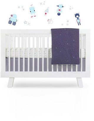 Babyletto 'Galaxy' Crib Sheet, Crib Skirt, Changing Pad Cover, Play Blanket & Wall Decals $129 thestylecure.com