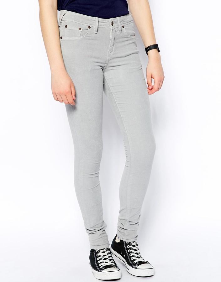 Hilmead Skinny Velvet Jean