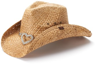 Peter Grimm Women's Straw Cowboy Hat