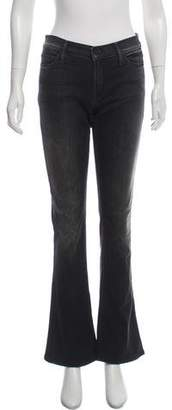 Mother Mid-Rise Wide-Leg Jeans