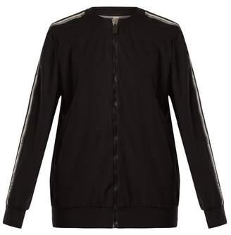 No Ka'oi - Nola Zip Through Performance Jacket - Womens - Black White