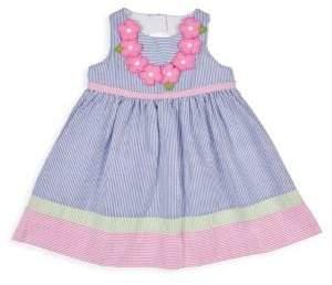 Florence Eiseman Little Girl's Stripe Seersucker Dress
