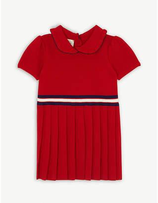 Gucci Web striped wool dress 6-36 months